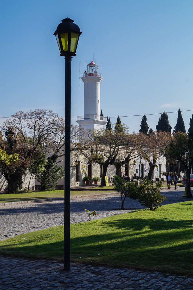 The lighthouse in Colonia Del Sacramento