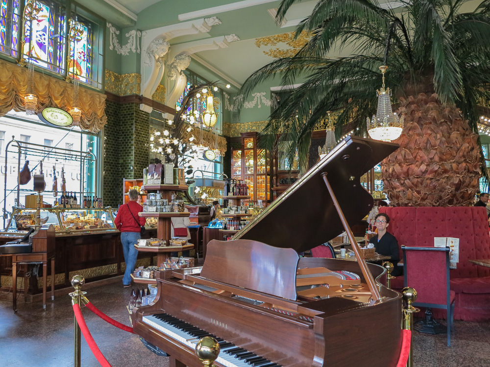 The Eliseyev Emporium in Saint Petersburg