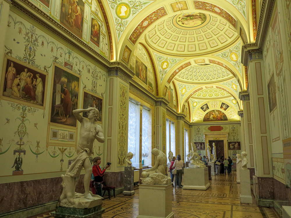 The State Hermitage Museum. The Gallery of the History of Ancient Painting in the New Hermitage.