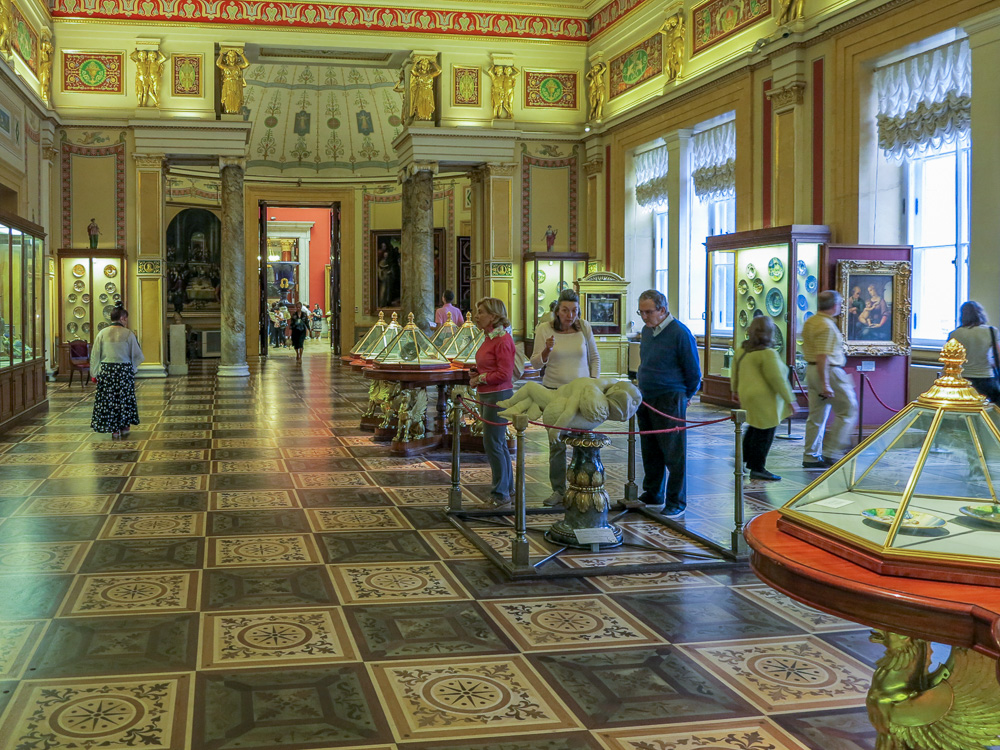 The State Hermitage Museum. The Majolica Room in the New Hermitage.