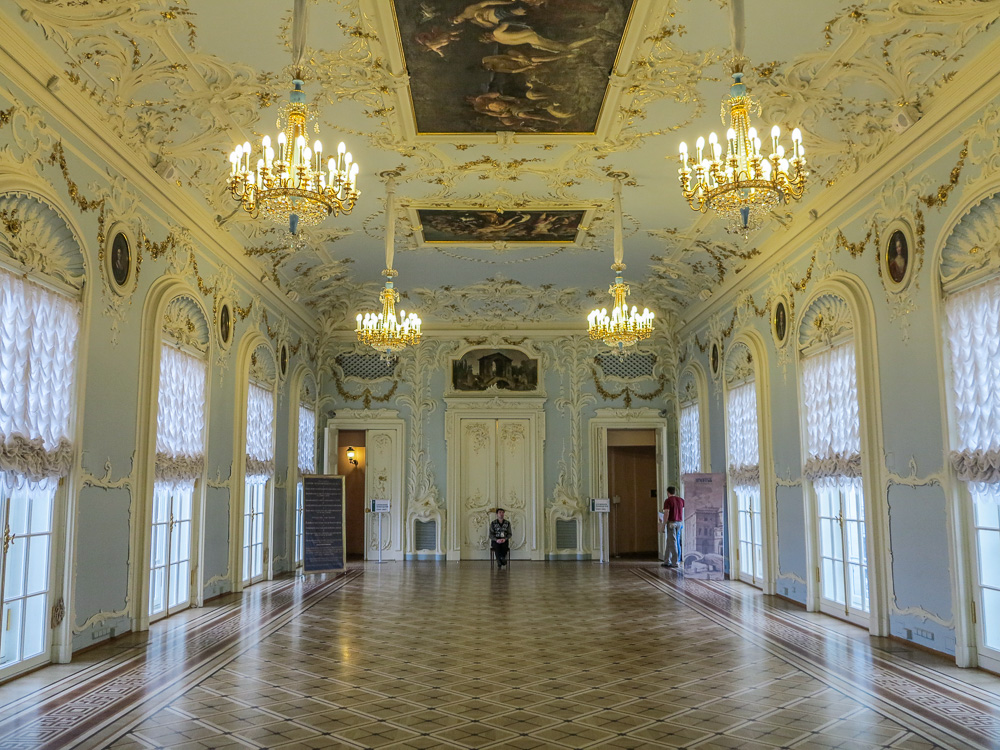The State Hermitage Museum. Inside the Winter Palace.