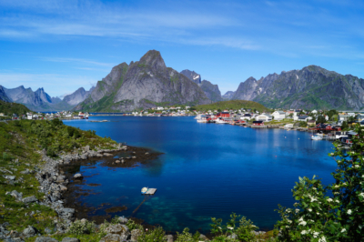Reine fishing village in Lofoten Islands