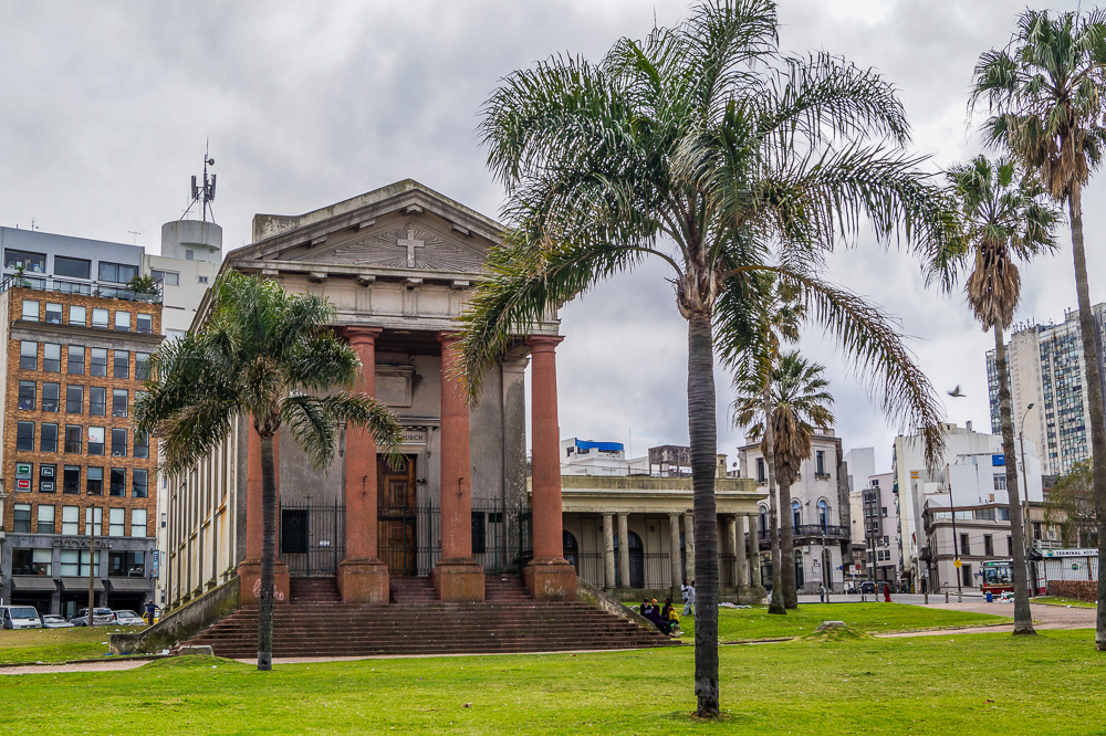 The English Temple in Montevideo