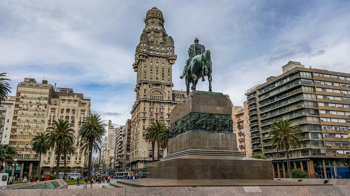 Independence Square in Montevideo
