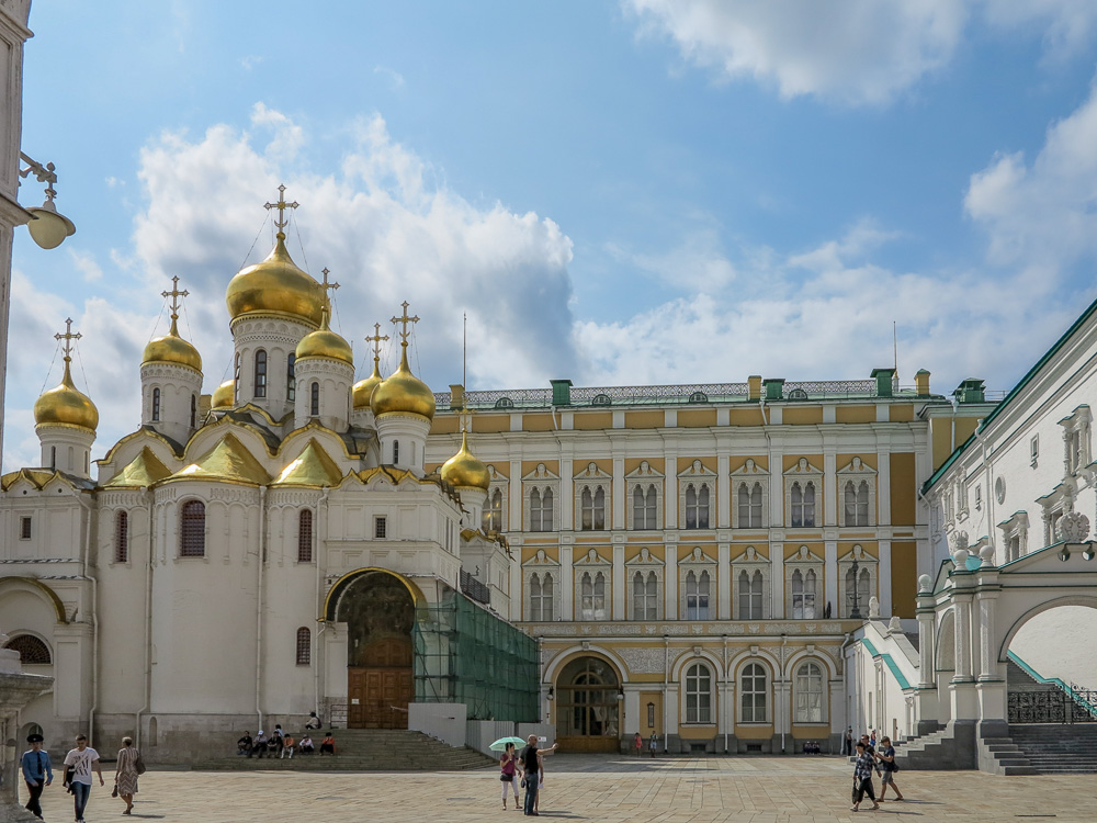 Cathedral of the Annunciation in the Moscow Kremlin