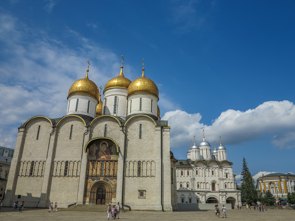 Assumption Cathedral in the Moscow Kremlin