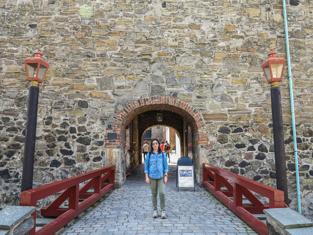 Entrance Gate for the Akershus Castle in Oslo