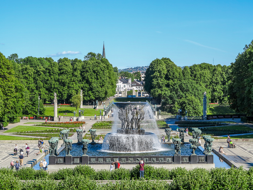 The Fountain at Vigeland Sculpture Park