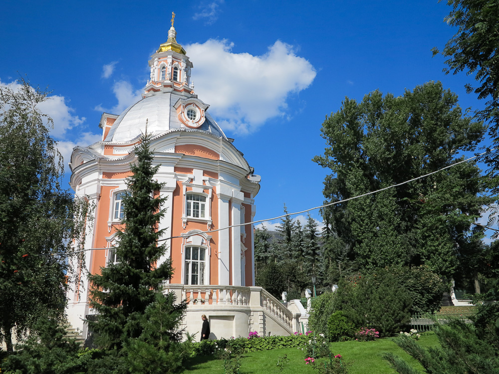 The Church of Our Lady of Smolensk at the Trinity Monastery of St. Sergius in Sergiyev Posad