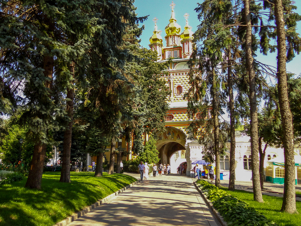 St John the Baptist's Gate-Church at the Trinity Monastery of St. Sergius in Sergiyev Posad