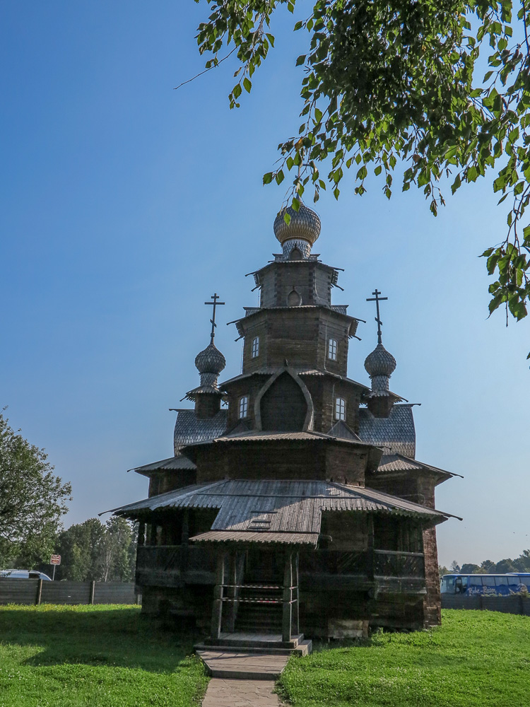 Church at the Museum of Wooden Architecture and Peasant Life in Suzdal