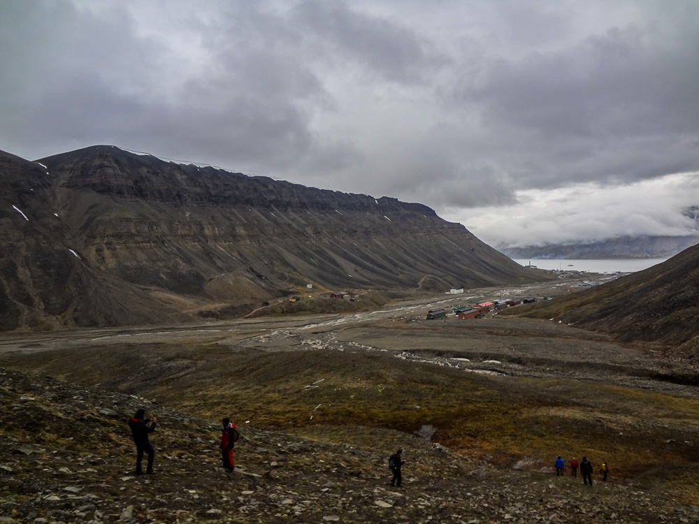 Hike to Trollsteinen in Svalbard