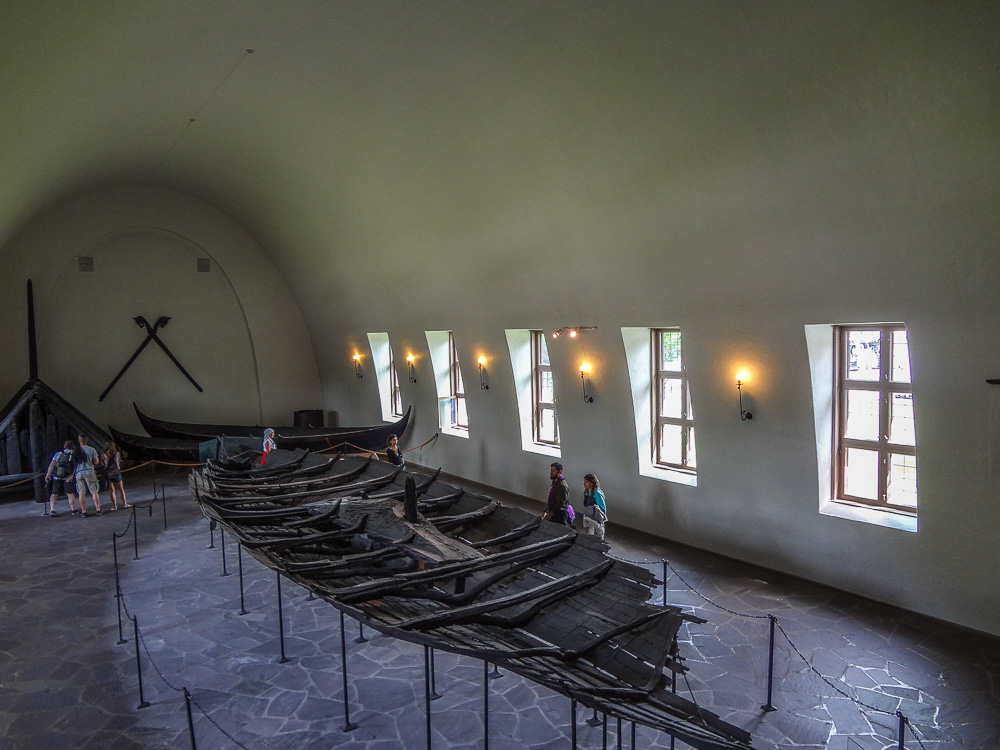 The Tune ship at the Viking Ship Museum