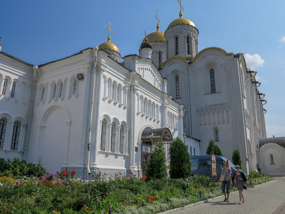 The Dormition Cathedral (Assumption Cathedral) in Vladimir
