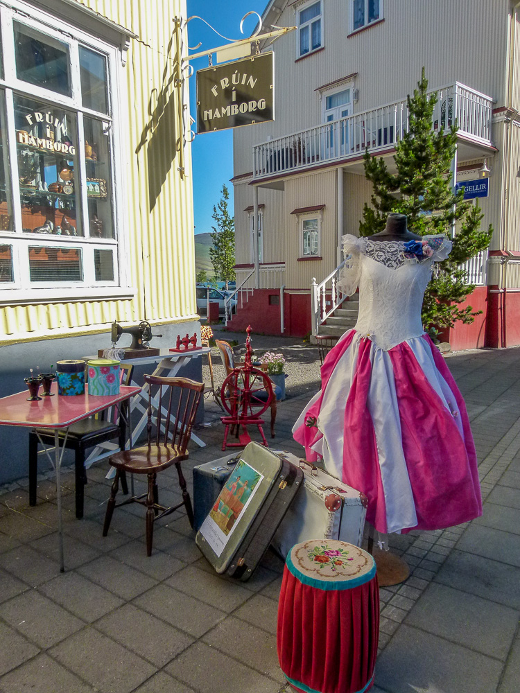 Antic shop in Akureyri