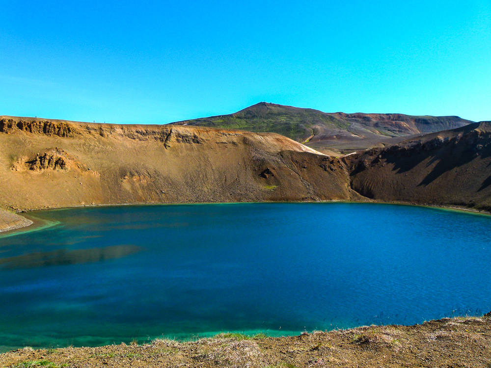 Víti crater at Krafla volcano