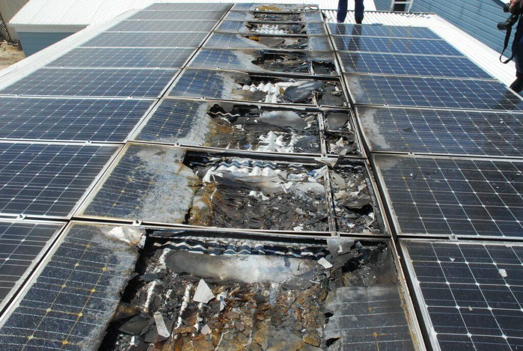 solar-panel-fire-australia