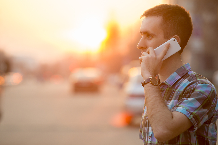 commercial broker hire phone call