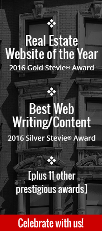 Theresa Bradley-Banta wins Gold Stevie Award for Best Website of the Year and Silver for Best Overall Writing/Content!