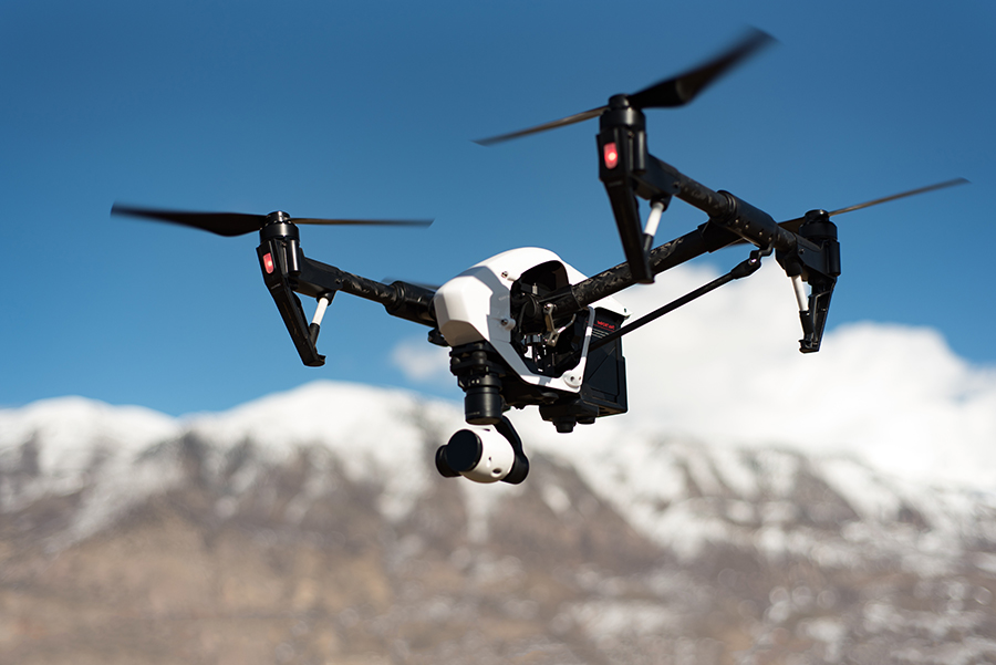 multifamily open house drone