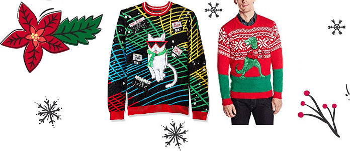 Blizzard Bay Cute Christmas Sweaters for Men
