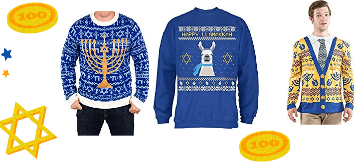 The 6 Best Ugly Hanukkah Sweaters on Amazon