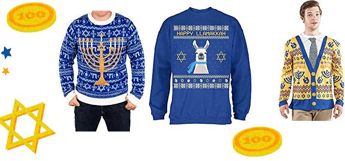 The 6 Best Ugly Hanukkah Sweaters on Amazon