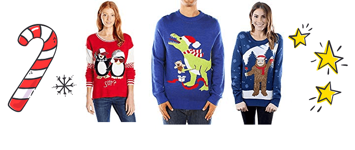 8 Cute Ugly Christmas Sweater Ideas
