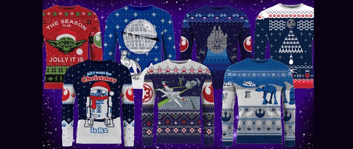 The 6 Best Star Wars Ugly Christmas Sweaters