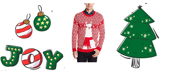 Blizzard Bay Men's Ugly Christmas Sweater Llama Review plus two additional llama recommendations