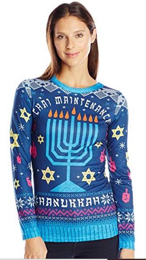 Chai Maintenance Hanukkah Sweater Best Ugly Hanukkah Sweaters in 2019