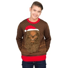 Star Wars Chewbacca Ugly Christmas Sweater. Cute Star Wars Christmas Sweater