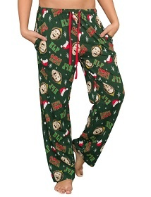 Oh my God, Oh my God. Oh my god! Santa's coming! Elf 2003 Movie Lounge Pants