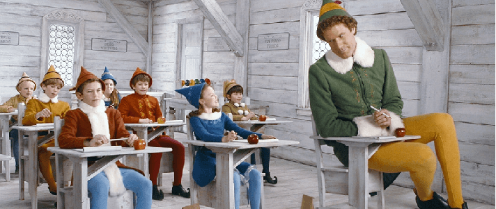 Buddy Elf Ugly Christmas Sweater Elf Movie