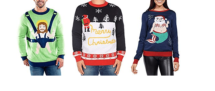 8 Best Hilarious ugly Christmas sweater ideas
