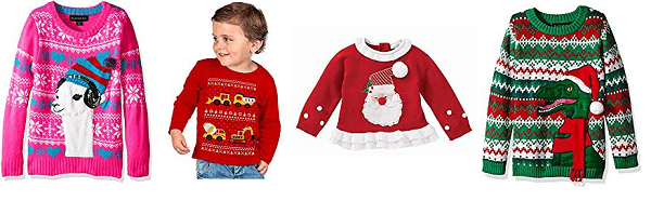 Ugly Christmas Sweater Ideas for Kids