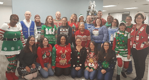 best ugly christmas sweater ideas for work