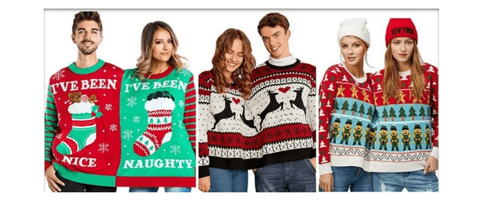 Best Couples Ugly Christmas Sweater Ideas