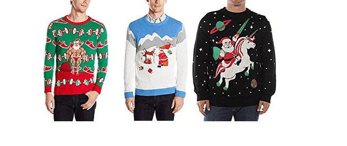 Ugly Christmas Sweater Ideas for Guys