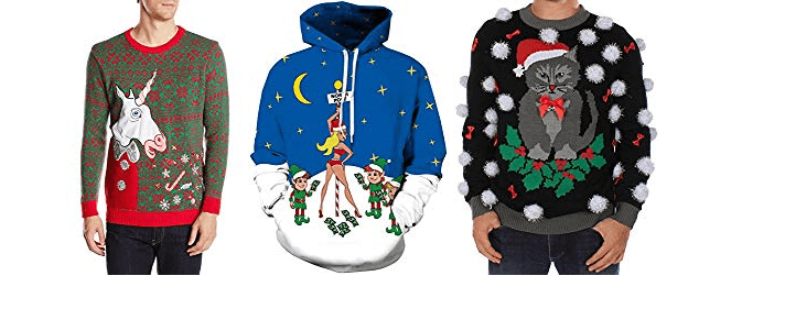 Ugly Christmas Sweater Ideas for Guys!