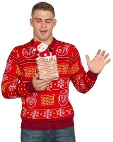 Jack in the Box Christmas Sweater