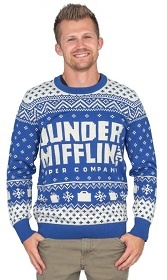Dunder Mifflin Ugly Christmas Sweater