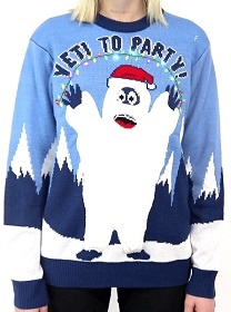 Bumble, The Abominable Snowmonster of the North. Abominable Snow Man Sweater. Yeti Christmas Sweater, Rankin/Bass Bumble sweater