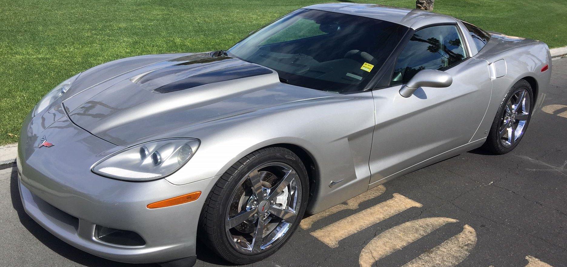 2008 Corvette coupe