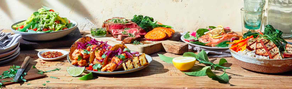 top 4 best - sun basket website variety available meals for delivery