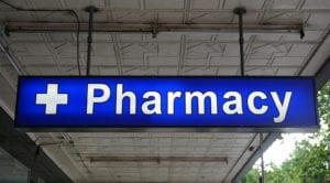 Pharmacy Ceiling Signs