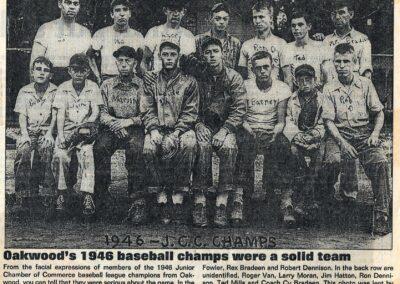 1946 Baseball Champs