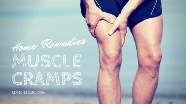 Home remedies fo Muscle Cramps