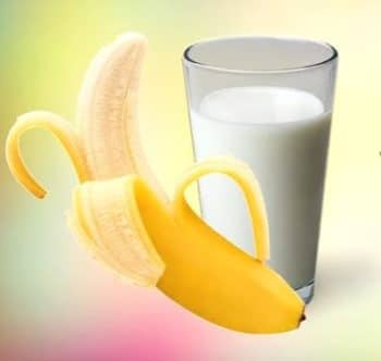 banana and milk for healthy weight gain