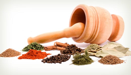 photo of different kinds of indian spices
